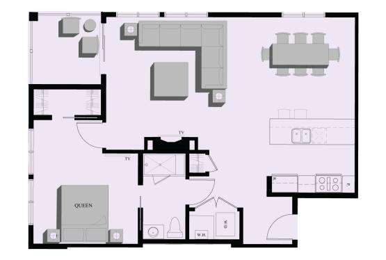201 1 Bedroom Condominium
