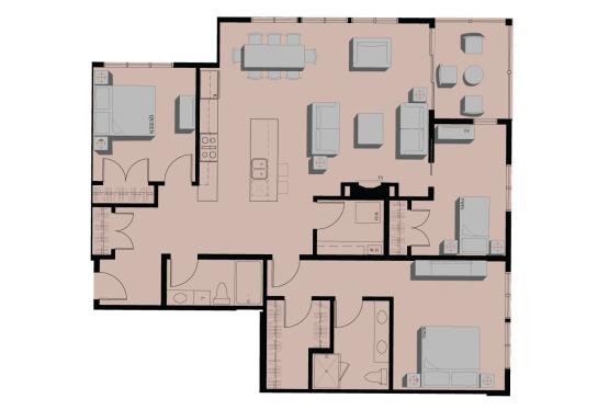 202 2 Bedroom Condominium