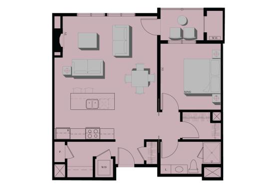1 bedroom condominium downtown portland